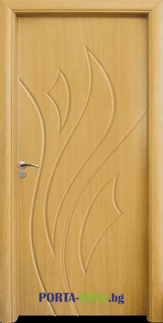 Интериорна HDF врата модел 033 във Варна
