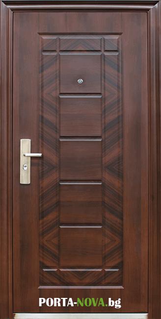 Метална входна врата модел 018-7 във Варна