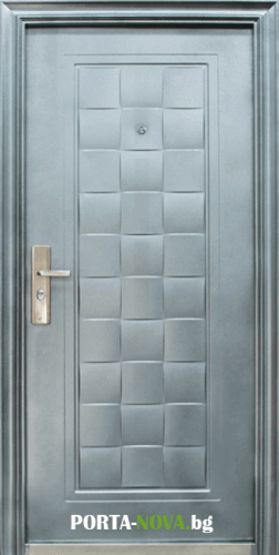 Метална входна врата модел 132-D1 във Варна