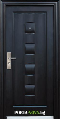 Метална входна врата модел 137-P във Варна