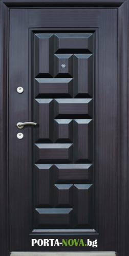 Метална входна врата модел 602 във Варна