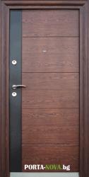 Метална входна врата модел 616-C във Варна