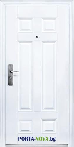 Метална входна врата модел 666 във Варна
