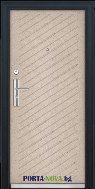Метална входна врата модел 703 във Варна
