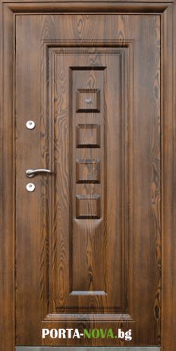 Метална входна врата модел 802-7 във Варна