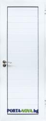 Алуминиева врата за баня, цвят Бял във Варна