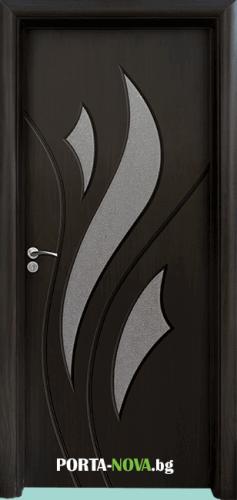 Интериорна HDF врата с код 033, цвят Златен дъб във Варна