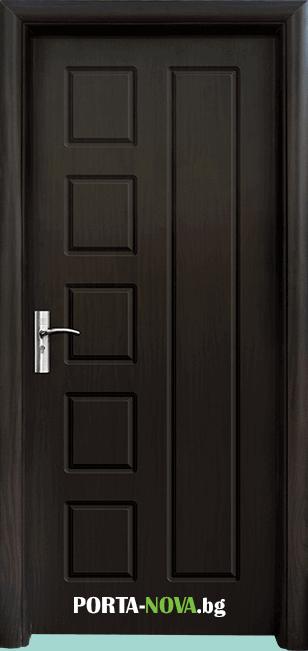 Интериорна HDF врата модел 048-P във Варна