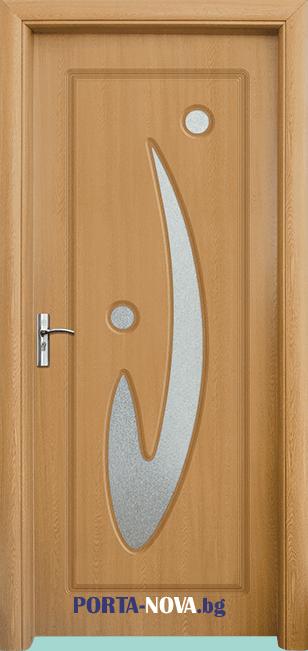 Интериорна HDF врата модел 070 във Варна