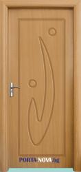 Интериорна HDF врата с код 070-P, цвят Орех във Варна
