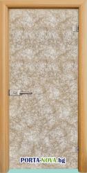 Стъклена интериорна врата, Fabric G 12-1, каса Венге във Варна