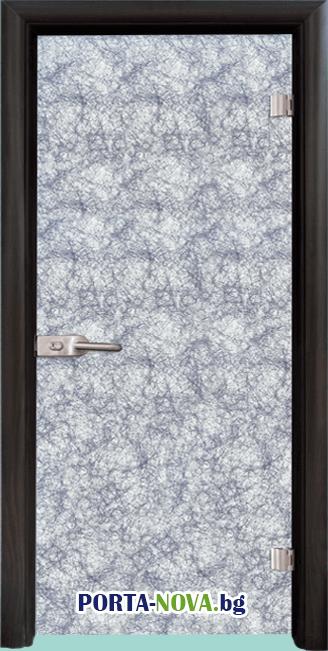 Стъклена интериорна врата, Fabric G 12-2 във Варна