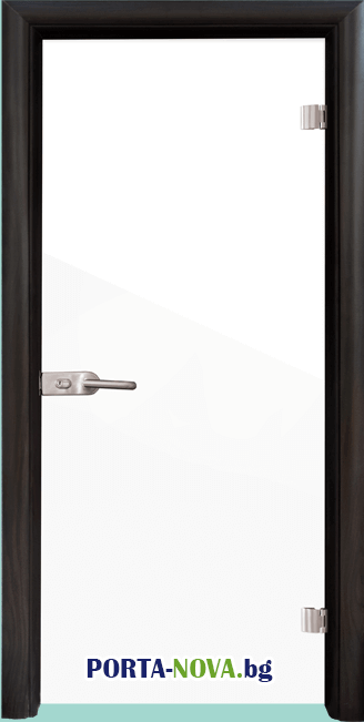 Стъклена интериорна врата, Folio G 15-1, каса Бяла във Варна