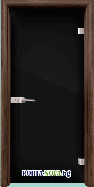 Стъклена интериорна врата, Folio G 15-2, каса Светъл дъб във Варна