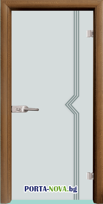 Стъклена интериорна врата, Gravur G 13-3 във Варна