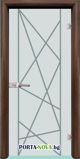Стъклена интериорна врата, Gravur G 13-5 във Варна