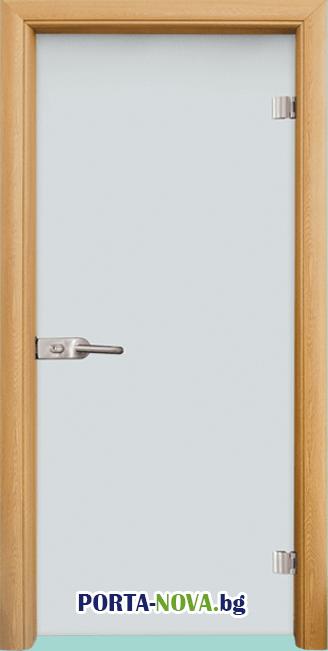 Стъклена интериорна врата, Matt G 11 във Варна