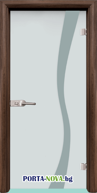 Стъклена интериорна врата, Sand G 14-1 във Варна