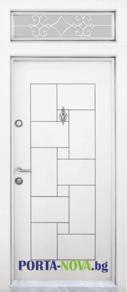 Еднокрила входна врата Т-100, Бялa във Варна