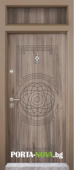 Еднокрила входна врата Т-110, цвят Спарта във Варна