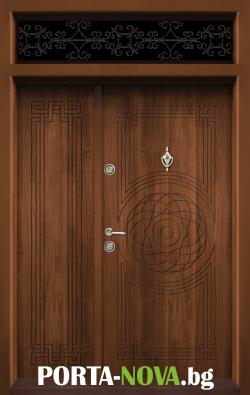 Еднокрила входна врата Т-110, цвят Златен дъб във Варна