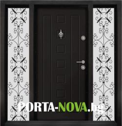 Еднокрила входна врата Т-712, цвят Африка във Варна