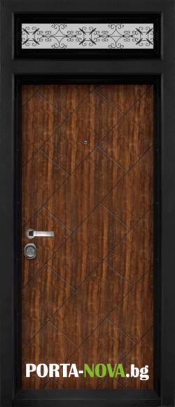 Еднокрила входна врата Т-904, цвят Сахара във Варна